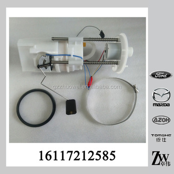 top quality car engine fuel filter 16117212585 for bmw x5