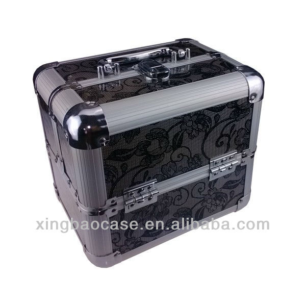 Cosmetic Case makeup case hard metal beauty case