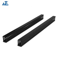 Professional Manufacture 6Feet Flexible Vertical Cable Duct Tool-Less Mounting Cable Manager- 4post open rack