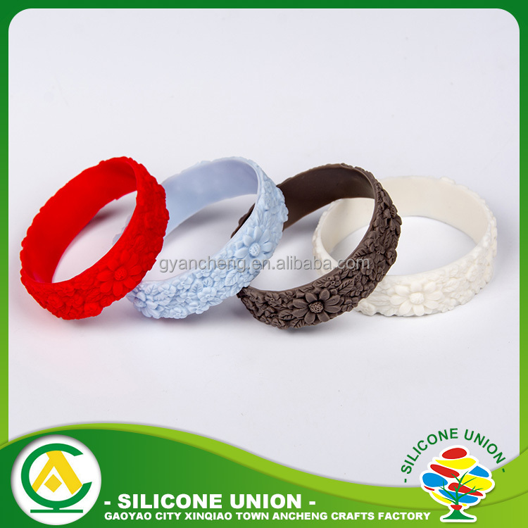 Bangles Type and Anniversary Engagement Gift Party Wedding Occasion Silicone Bracelet