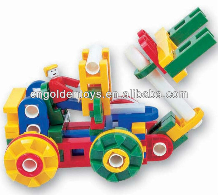Plastic building blocks creative child toy