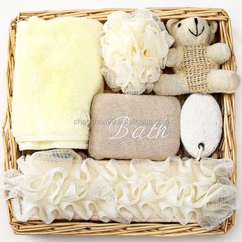 Basket Bath Gift Set Wedding Promotional Spa