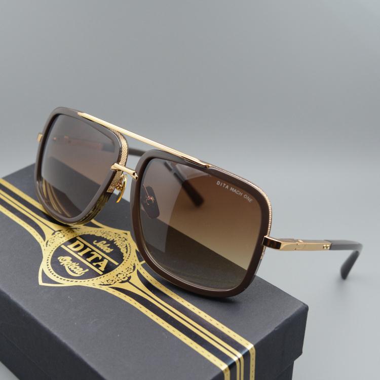 692fdc7fc1c Dita Sunglasses Men Brand Designer 18K Glod Sun glasses Women and Men Famous  Oculos De Sol Masculino Mach One Square glasses