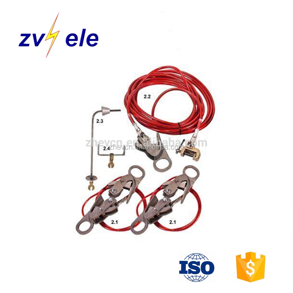 working earthing reticulation kit equipment / Circuit breaker earth set / Earthing wire