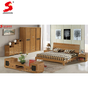 Wholesale price high quality contemporary european style wooden hotel bedroom furniture set