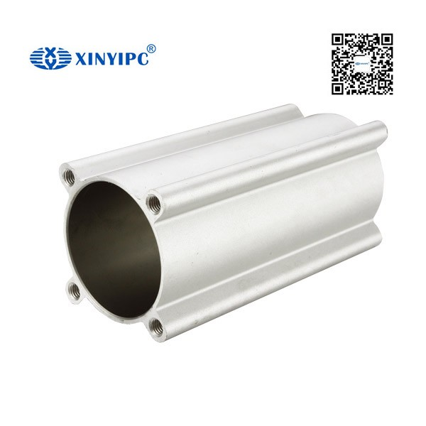 CC 2016 hot sales ningbo xinyipc SC/MAL Round Pneumatic Cylinder anodized aluminium tube