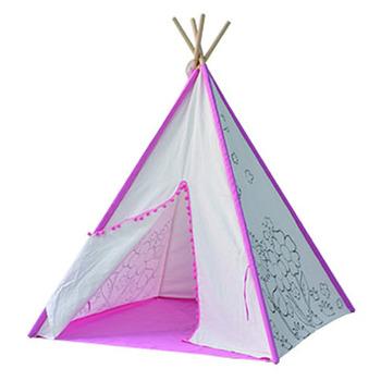 4-walls Secret Garden Teepee Tent Kids Teepees To Color For Children Tent -  Buy Kids Indoor Teepee,Teepee Tents For Sale,Kids Pop Up Teepee Tent