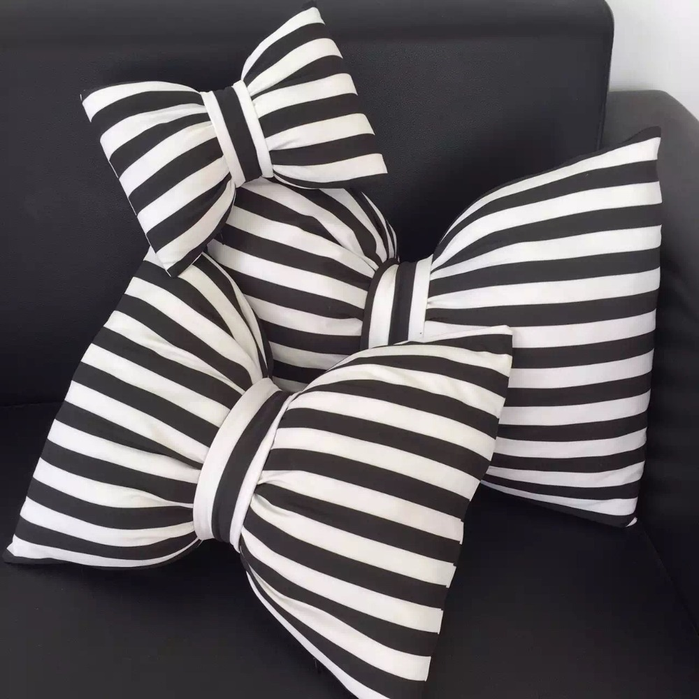 Super Cute Soft Cartoon Big Striped Black And White
