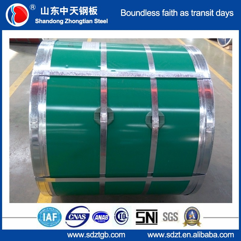 750-1250mm prepainted steel coil metal sheet FROM Guanxian mill