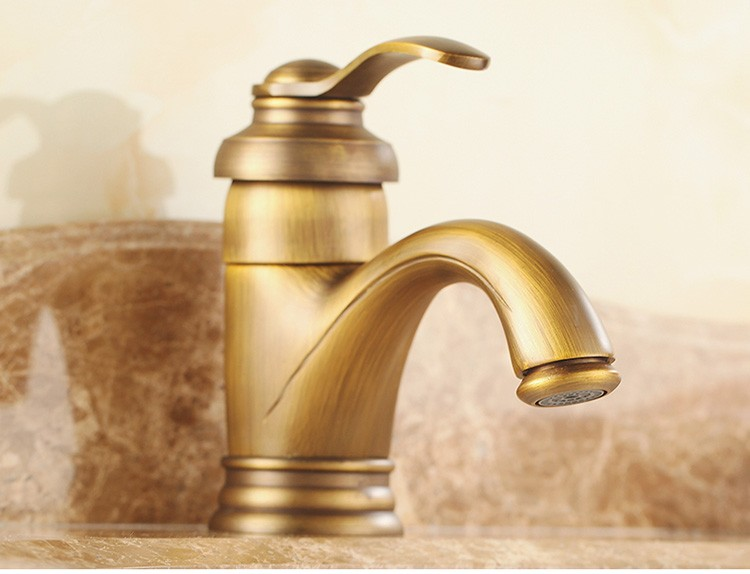 Brass Bathroom Basin Antique Faucet Cold And Hot Water Wm4607f Buy Faucet Antique Faucet