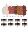 Single Highlighter 8 Colors Shimmer Face Powder High Pigment Highlighter Loose Powder Makeup Private Label
