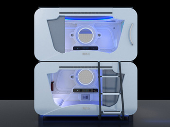 Space Bunk Beds fashionable and modern kids bunk bed space capsule bed - buy bunk