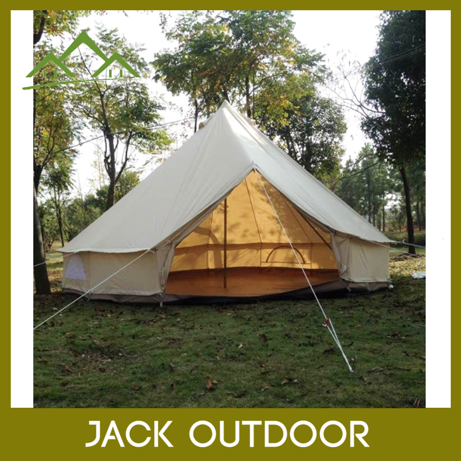 Wholesale Bed Outdoor Camping Adults Teepee tent Cotton Safari Luxury Bell Tents