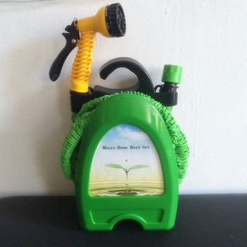 Expandable Garden Water Hose Micro Hose Reel Set & Expandable Garden Water Hose Micro Hose Reel Set - Buy Micro Hose ...