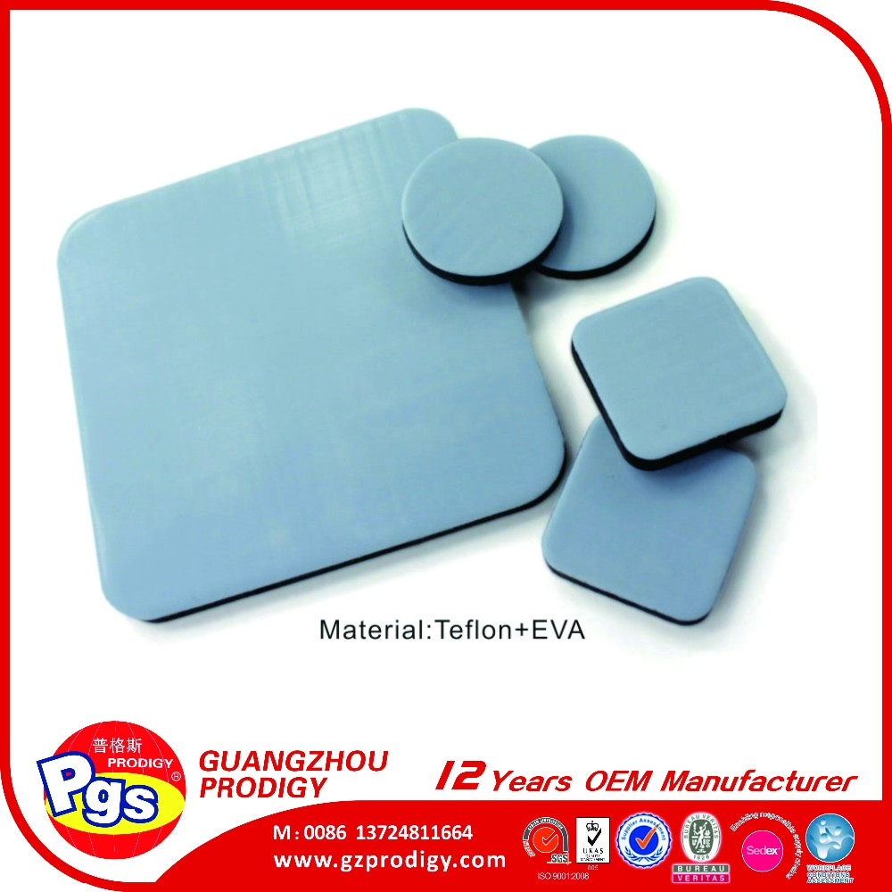 PTFE silla Pie, teflón muebles slider padsfor mover muebles pesados
