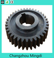 compact spinning balck gear for textile machinery