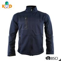 Man lightweight coat 100% polyester blue bomber jacket wholesale
