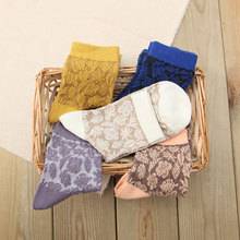 Senior model cotton socks for women