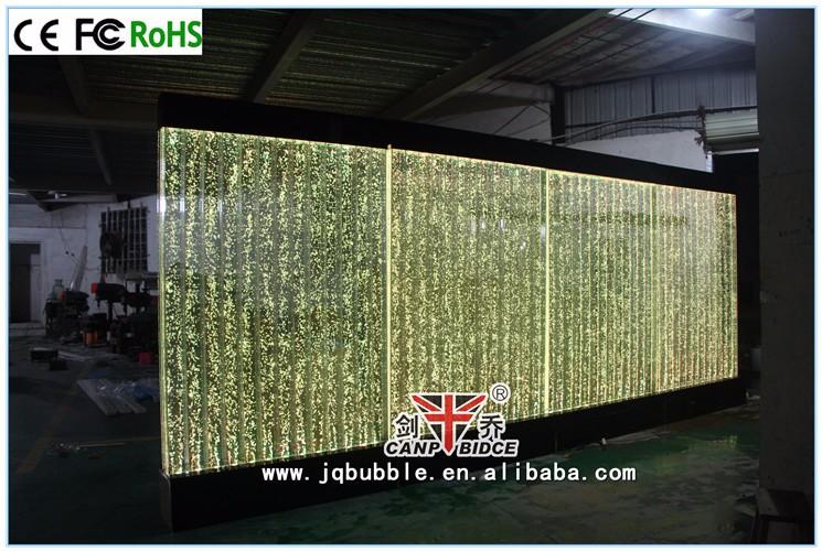 fuentes de agua de interior de agua de acrlico decoracin burbuja pared panel divisor