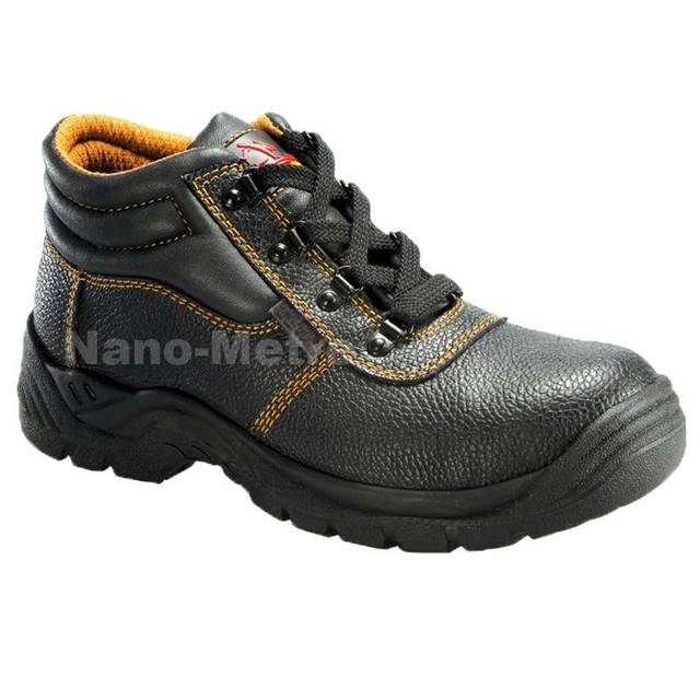 NMSAFETY work time safety shoes worker safety shoes/pu material shoes