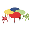 L.Doctor brand HY-0575-1 Height adjustable wooden school classroom kindergarten furniture