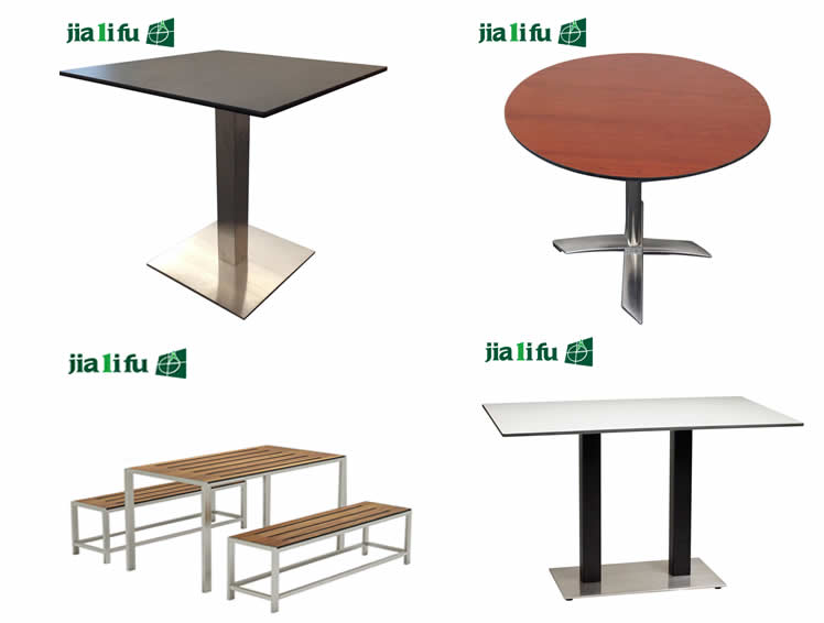 Waterproof hpl compact laminate round restaurant table top