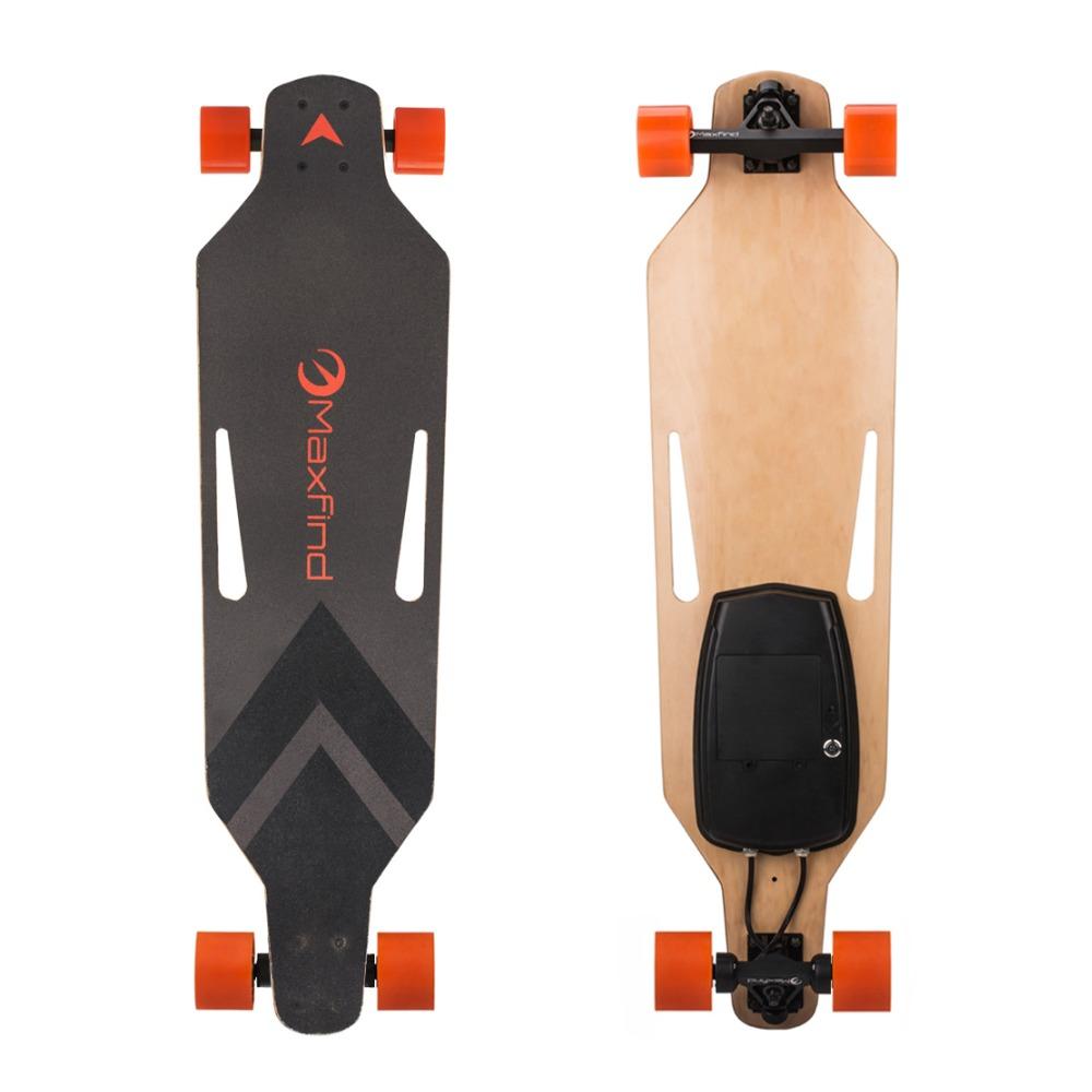 Maxfind Electric skateboard 38 inch longboard for outdoor sporting