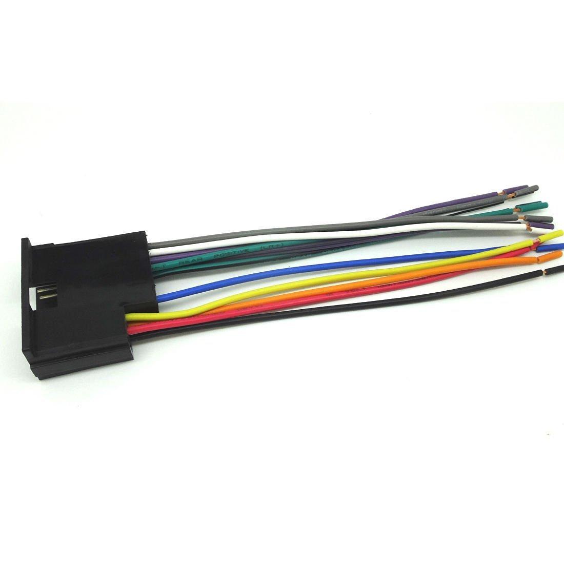 buy conpus car stereo cd player wiring harness wire aftermarket kia spectra conpus car stereo cd player wiring harness wire aftermarket radio install 1996 2002 kia sportage