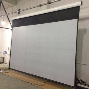 300 Inch 16:10 2. large Motorized Tab Tensioned projector screens electric projection screen with Tubular Motor