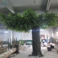 Artificial Big Home Decoration Ficus Banyan Tree for Garden Decoration