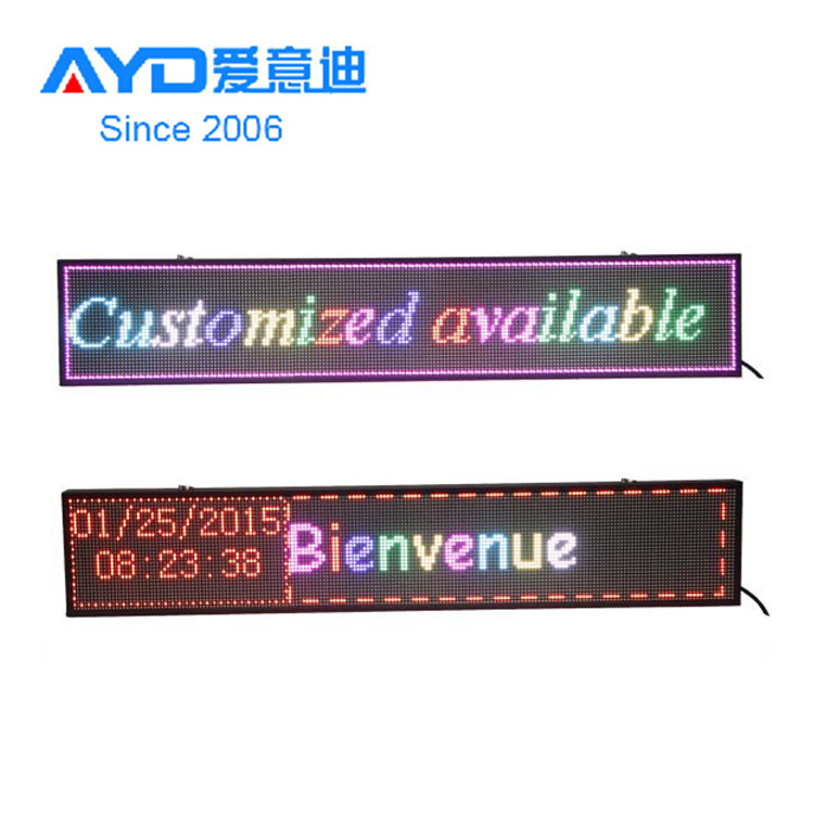 Hot Sale Slim Frame USB or Wifi Bluetooth Program Flexible Indoor <strong>LED</strong> <strong>Display</strong>