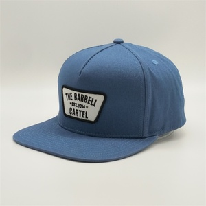 Wholesale Custom Design Your Own Snapback Caps,Vintage Embroidery Hiphop Baseball Caps,Wash Blue Flat Bill Blank Snapback Hat