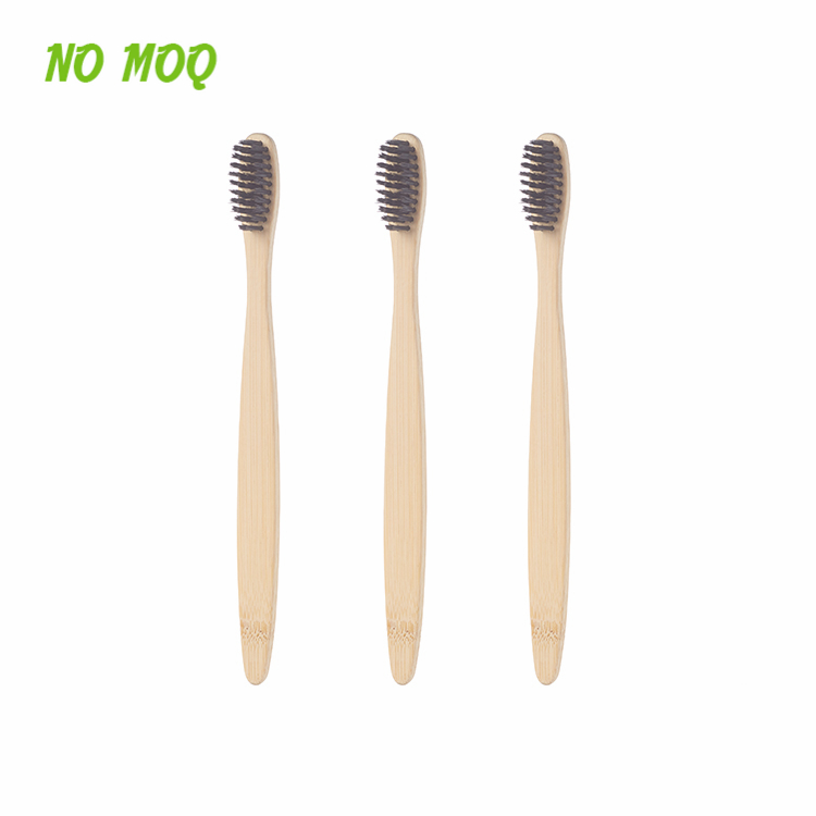 Hot Sale Private Label Custom Bamboo Toothbrush 100% Biodegradable фото