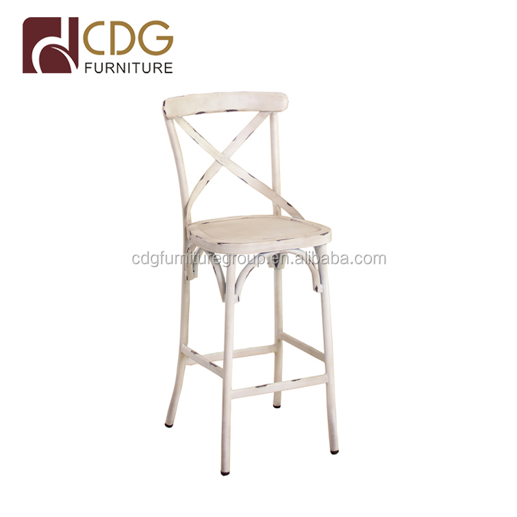 Loft Industrial Wind Iron Bar Chair American Bar Chairs Outdoor Aluminum Chair