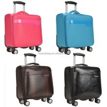 Guangzhou Newly PU Leather Bussiness case Luggage