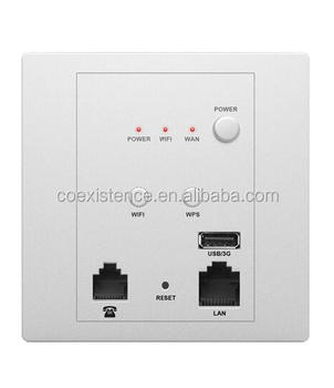 High Speed Wall Mount Wireless Access Point With Ihotel Wifi Wireless  Bridge And Rj45 And Rj11 Port Antenna - Buy High Speed Wall Mount Wireless