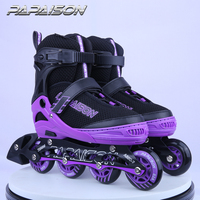 Factory directly price four wheel High quality patines de detachable child teen adults roller skates wholesale