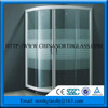 5mm thick factory custom low price Wall lamp glass Black or white colour silk screen printing lighting glass panel