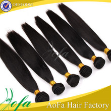 High quality indian human virgin remy hair extension full cuticle straight remy hair extension human virgin remy hai