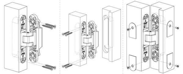 Hafele concealed hinge 180 degree hinge hidden door hinges for 180 degree swing door hinges