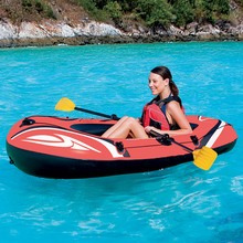 Bestway 61099 PVC inflatable the fishing pontoon hovercraft boats