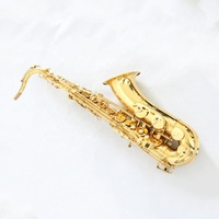 Popular Manufacturer Brands Price New Type Style Golden Color High Grade Hot Sale Wood Musical Instrument Yellow Tenor Saxophone