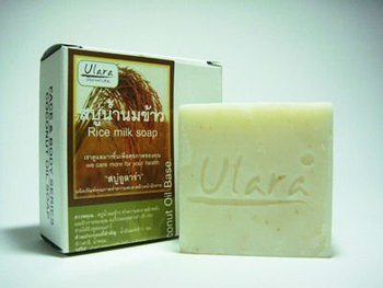 Natural Rice Milk Bar Soap