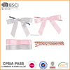 Wholesale crafts polyester satin ribbon bow with wire twist tie