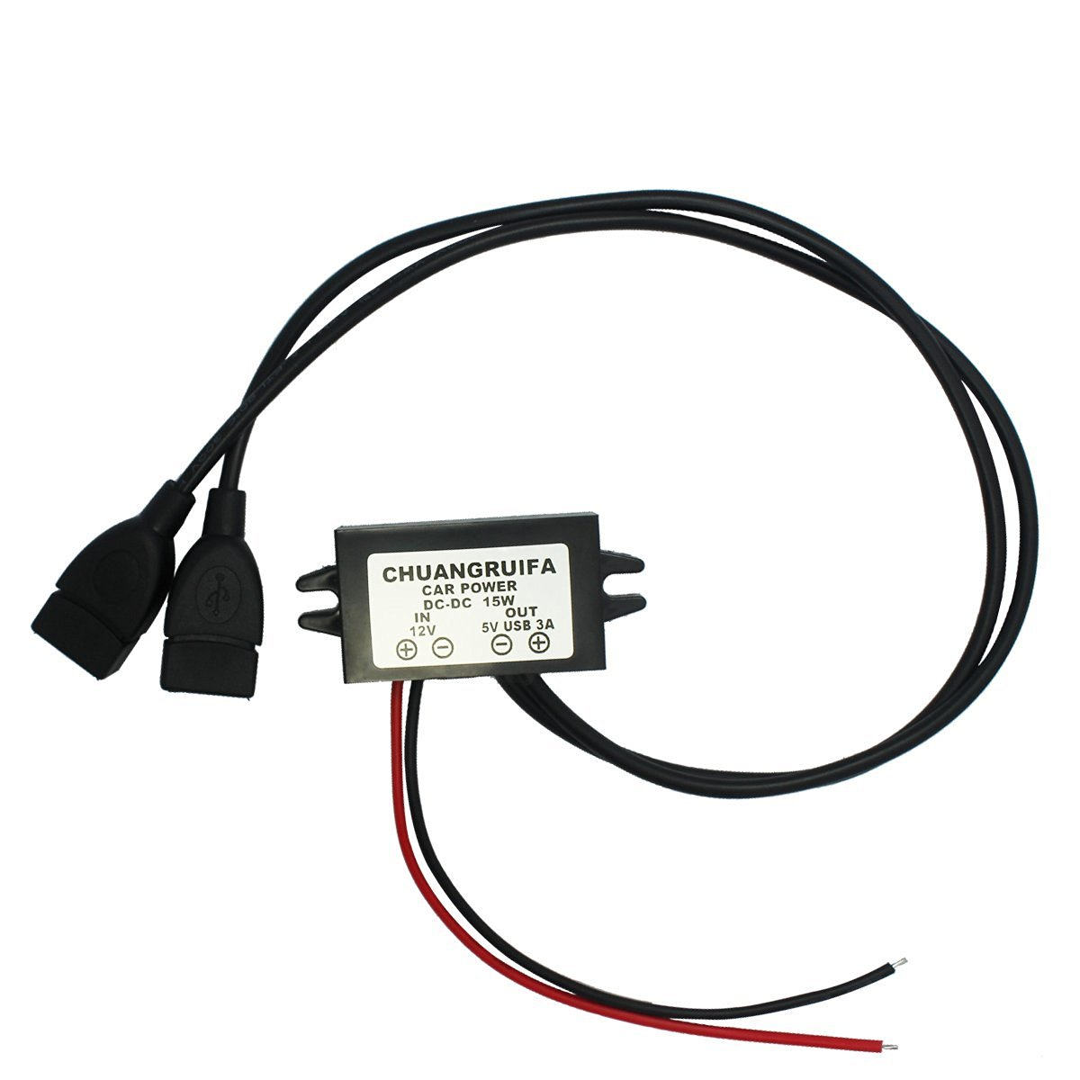 Cheap Dual Dc Converter Find Deals On Line 5vdc To 12v And Isolated Power Supply Get Quotations Esumic 5v Car Voltage Parallel Usb Adapter Connector