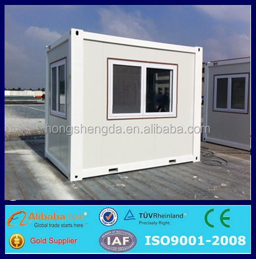 ready made flat pack 10ft shipping container mobile Outdoor Kiosk