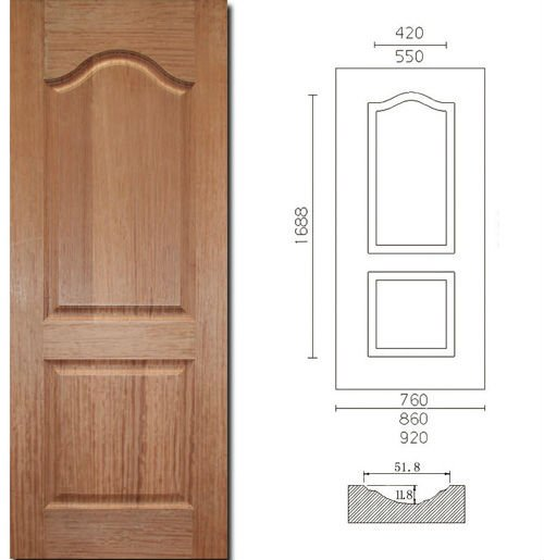 3.2mm Hdf/mdf Moulé Peau De Porte - Buy Product on Alibaba.com