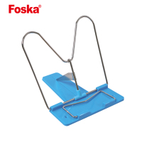 Foska Quality Office Metal Desktop Reading Portable Display Height Adjustable Book Stand