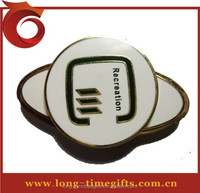 Hat clip Type golf cap clip ball marker/golf magnetic hat clip/magnetic golf ball marker hat clip