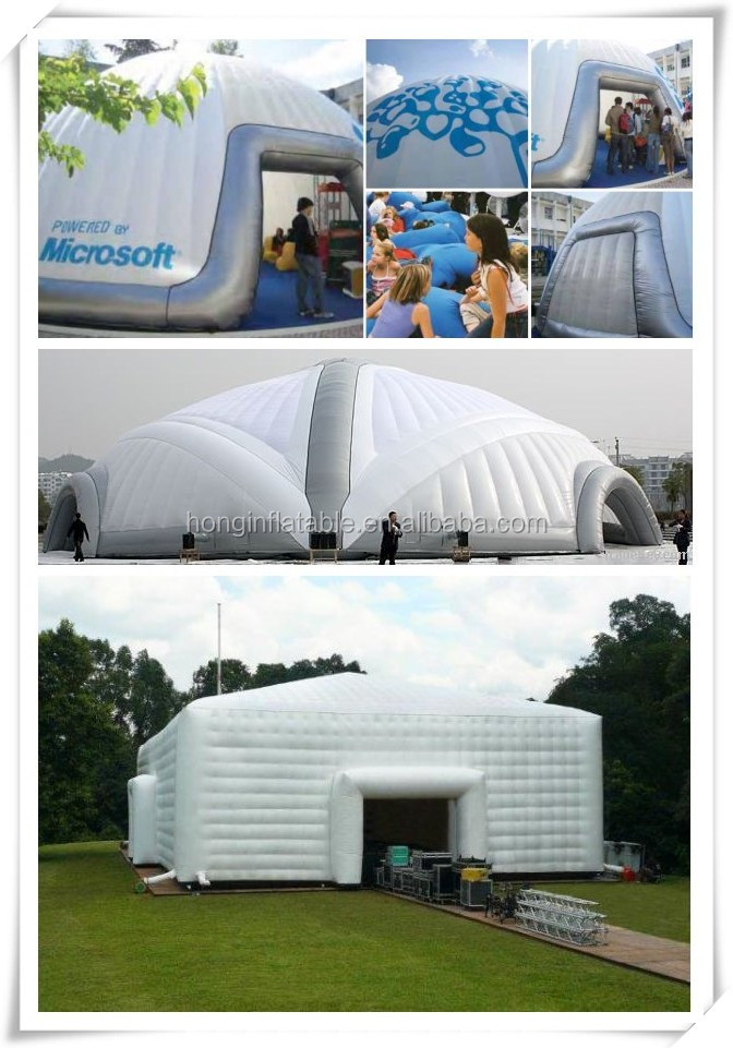 Portable Inflatable Shelters : Sealed inflatable tents portable transparent